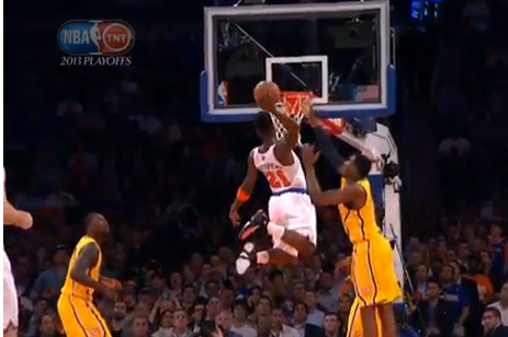 Iman Shumpert's Emphatic Dunk Alters Course of Knicks vs. Pacers Series