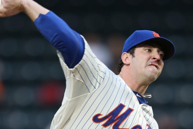 Mets' Bats Can't Match Harvey's Effort