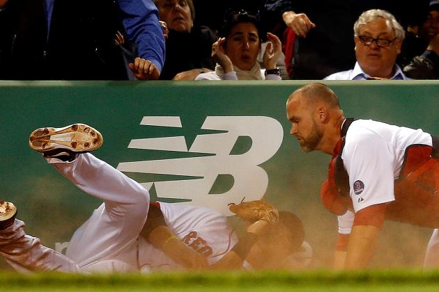 David Ross Says Leg Is 'A Little Sore' After Collision with Will Middlebrooks