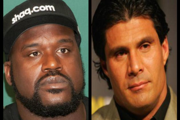 Shaq and Jose Canseco Twitter War Erupts, Possible MMA Fight in the Works