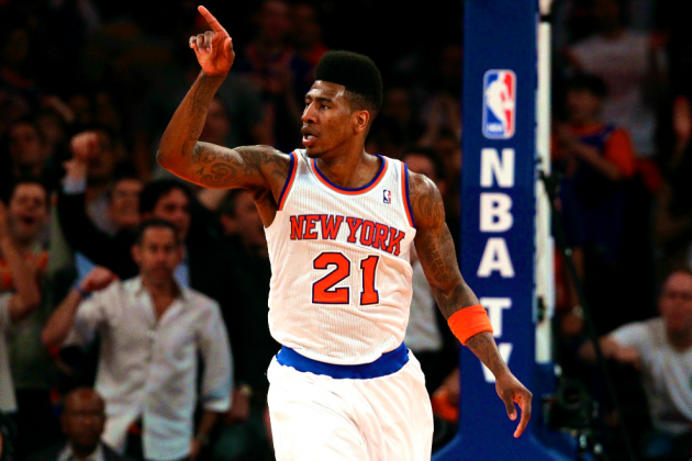 New York Knicks' Iman Shumpert Making Huge Strides in 2013 NBA Playoffs