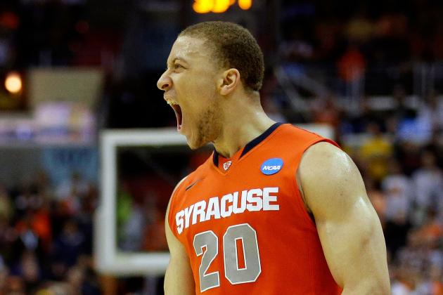 Syracuse's Brandon Triche Preparing for Graduation and NBA Draft