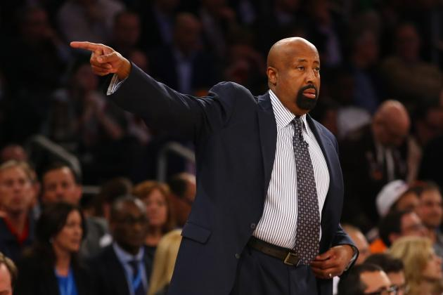 Knicks' Woodson Finishes Third in Coach of the Year Vote