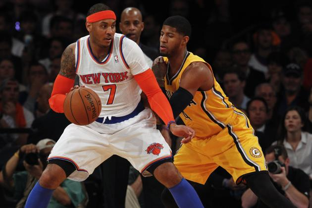 Carmelo on Knicks' Blowout Victory: 'We Played with a Sense of Urgency'