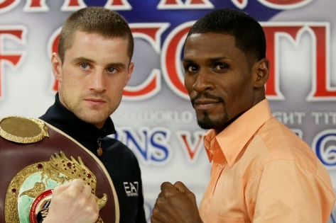 Images: Burns, Gonzalez Face off for Weekend Bout