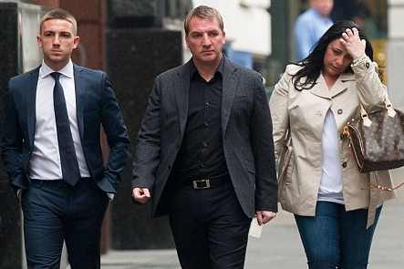 Liverpool Boss Rodgers in Court with Son