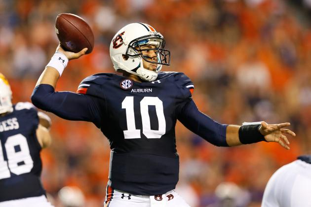 Quarterback Kiehl Frazier, Auburn See Improvement