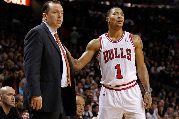 Derrick Rose Return Rumor Shot Down by Tom Thibodeau