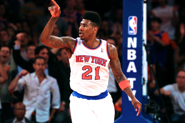 New York Knicks' Iman Shumpert Making Huge Strides in 2013 NBA Playoffs
