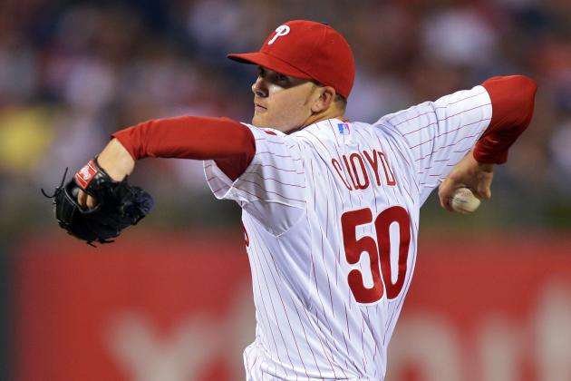 Cloyd Will Start in Halladay's Place on Friday