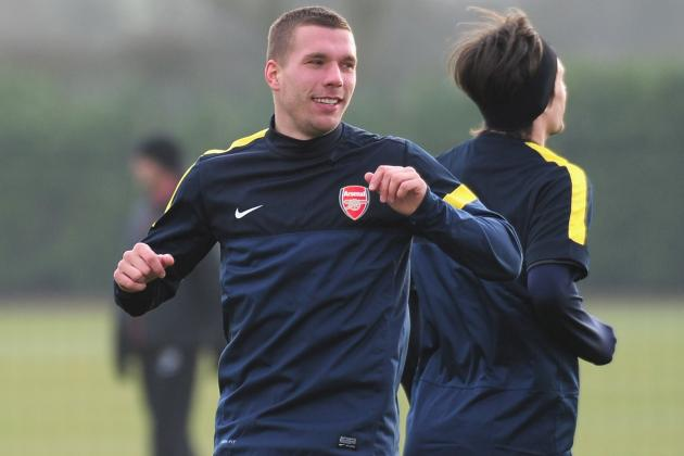 Ankle Injury Could Force Arsenal's Lukas Podolski Surgery