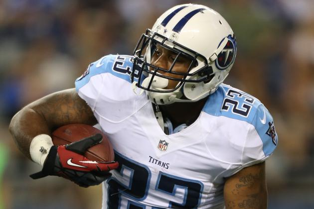 Titans Release RB Jamie Harper