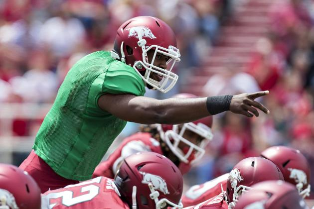Source: Ex-Hogs QB Mitchell Mulls 5 Schools