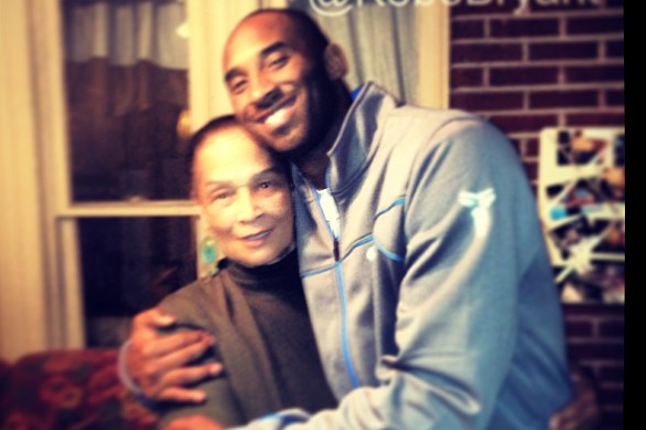 Instagram: Kobe Hangs with G-Ma