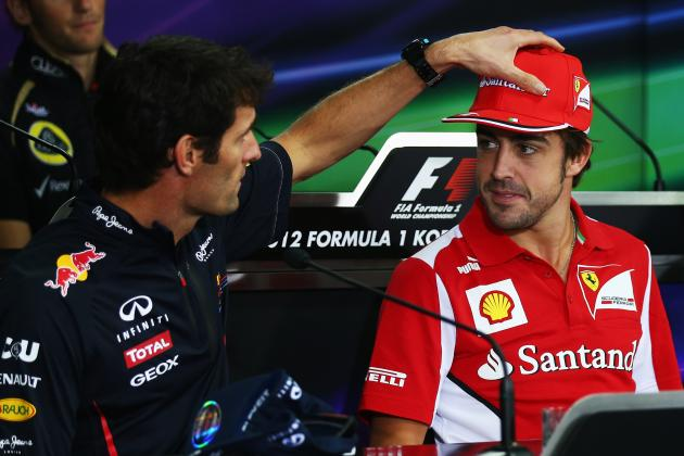Alonso and Webber's Close Rapport