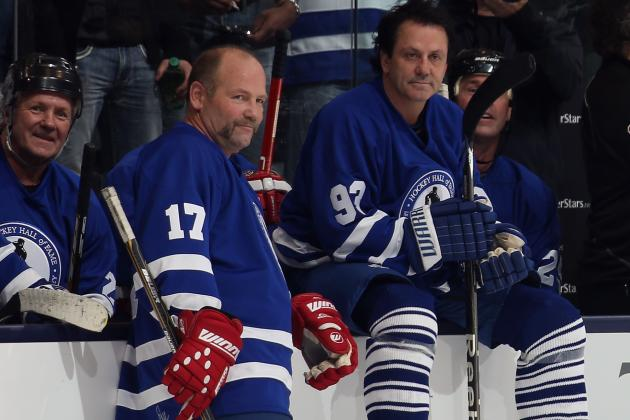 Wendel Clark, Doug Gilmour Offer Leafs Game 4 Tips