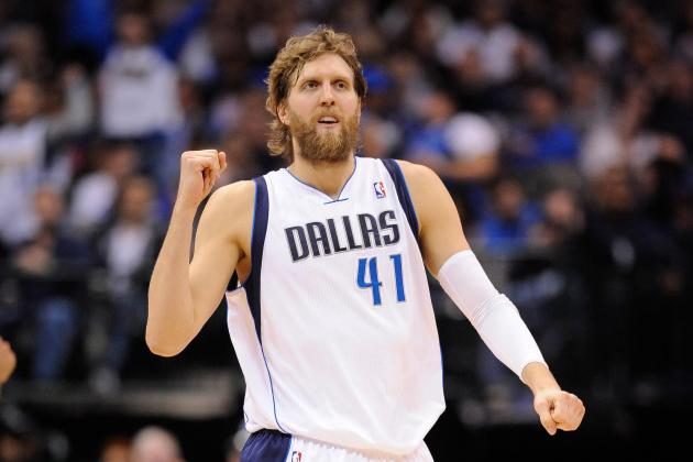 Fresh from Caribbean, Dirk Nowitzki Is Tan, Bearded and Staying Fit