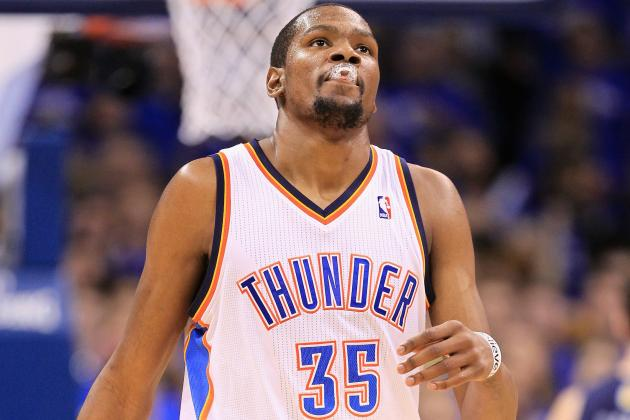 Kevin Durant Says Thunder Won't Panic After Game 2 Loss to Grizzlies