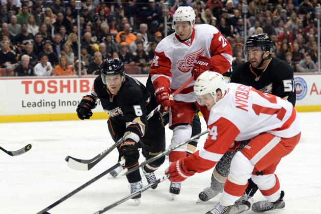 Wings' Forechecking Needs a Boost