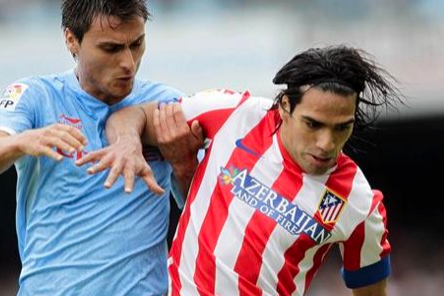 Liga: Falcao Grabs Winner as Atlético Beat Celta Vigo