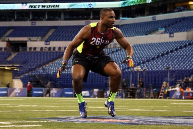 Undrafted LB Pough out to Make Impression