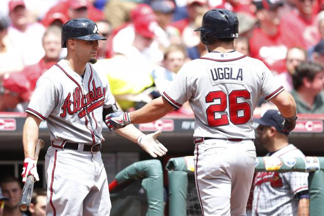 Braves' Three Homers Enough to Defeat Reds