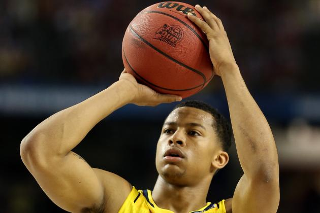 Ex-Michigan PG Trey Burke a Finalist for SI's 'Male College Athlete of the Year'
