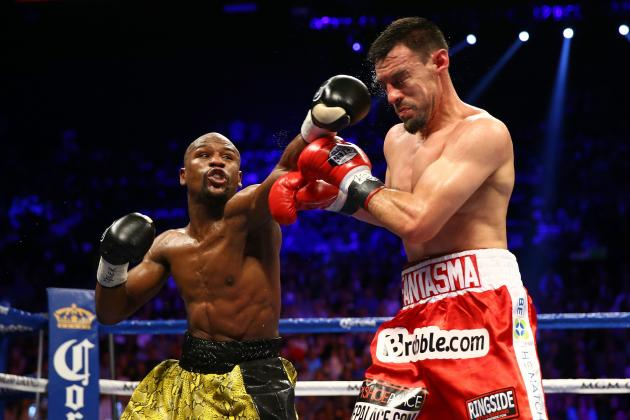 Mayweather vs. Guerrero Results: Smart Fights for Both Men After Lopsided Bout