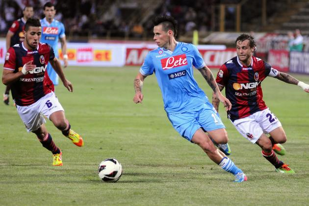 Result: Napoli Seal Second with Bologna Romp