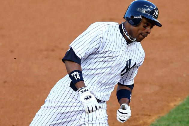 Yankees' Granderson to Rehab Here Beginning Thursday