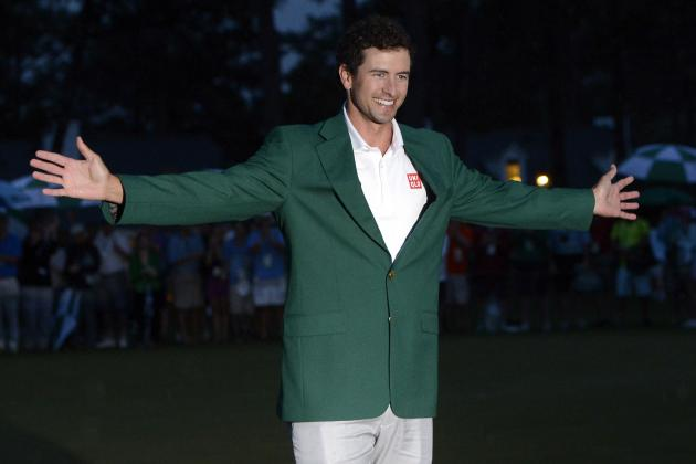 Adam Scott Loves Wearing His Green Jacket, Wants More