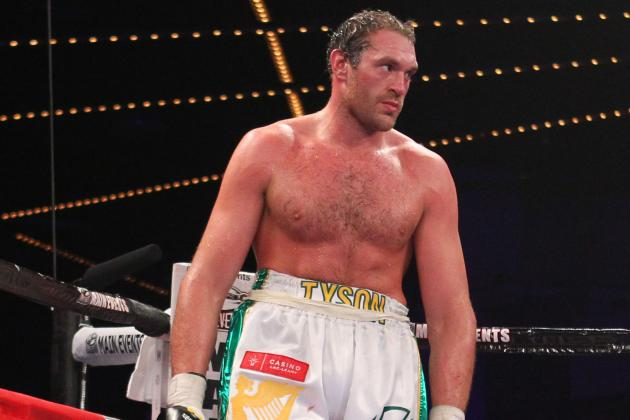 Tyson Fury Must Fight Cain Velasquez If the Money Is Right