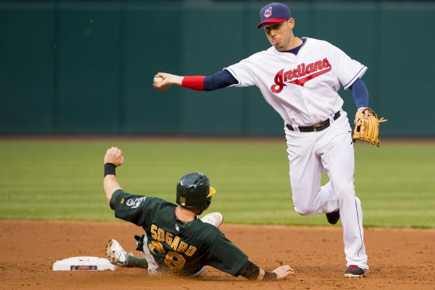 ESPN Gamecast: Athletics vs Indians