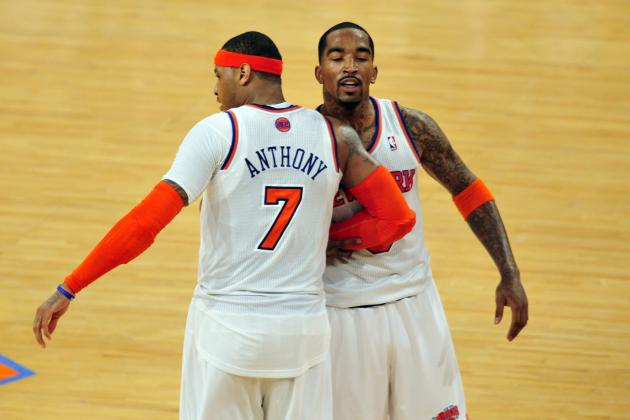 NY Knicks' Biggest Problem Isn't Carmelo Anthony, It's J.R. Smith