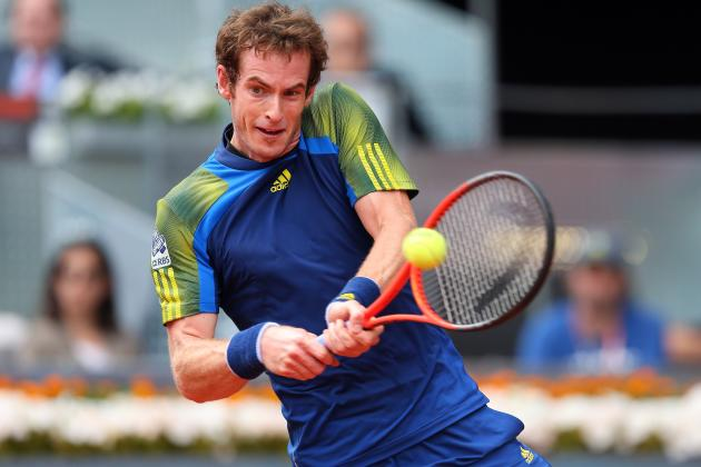 Andy Murray vs. Gilles Simon: Madrid Open Clash Is Top Matchup of 3rd Round