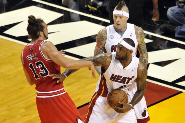 Chicago Bulls vs. Miami Heat: Game 2 Turns Ugly as Technicals, Hard Fouls Fly