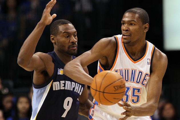 Tony Allen Showed He Could Still Guard Kevin Durant