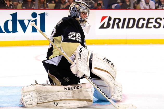 Pens to Bench Fleury for Game 5, Vokoun Gets Start