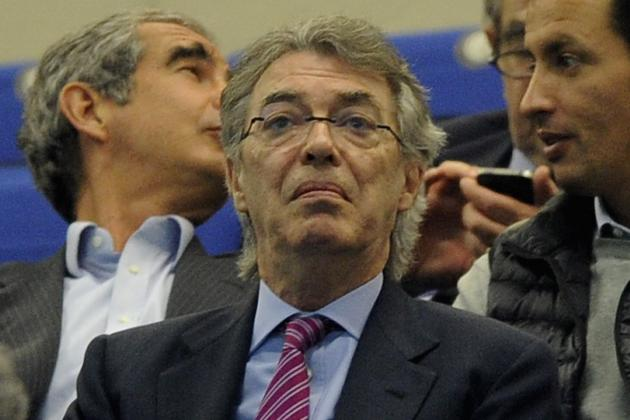 Moratti Faces Tough Questions After Inter's Record 15th Loss