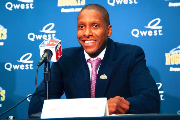 Nuggets GM Masai Ujiri Named NBA Executive of the Year