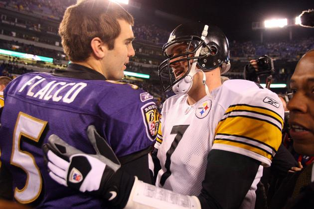 Roethlisberger Destroying Flacco in Baltimore Sun Best QB Poll