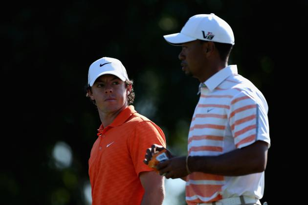 What Rory McIlroy Needs to Do to Pass Tiger Woods as World's Best Golfer