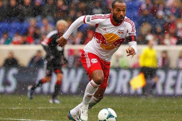 35-Year-Old Thierry Henry Scores Overhead Winner for New York