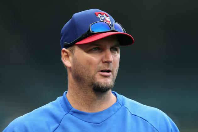 Rangers Will Place AJ Pierzynski on DL