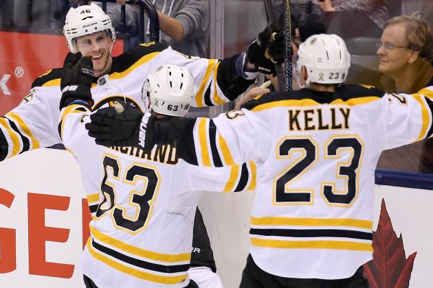VIDEO: David Krejci Completes Hat Trick with Overtime Winner