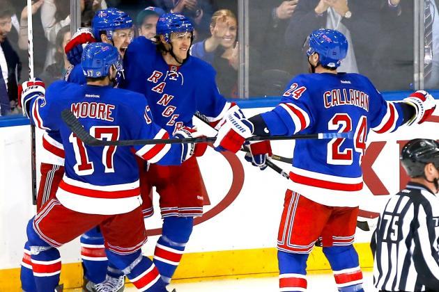 Derick Brassard Helps New York Rangers Tie Series Against Washington Capitals