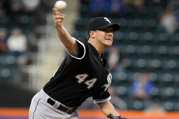 Peavy's Performance Pushes Sox Past Mets