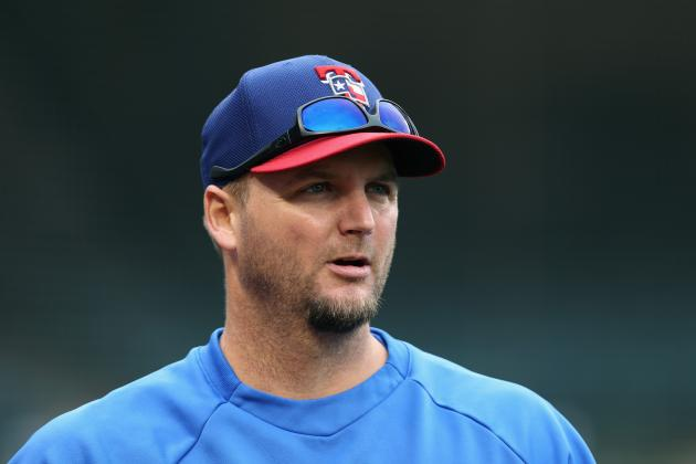 Rangers to Place A.J. Pierzynski on the 15-Day Disabled List