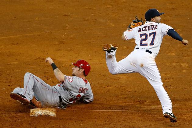 Norris, Carter Help Astros Upset Angels