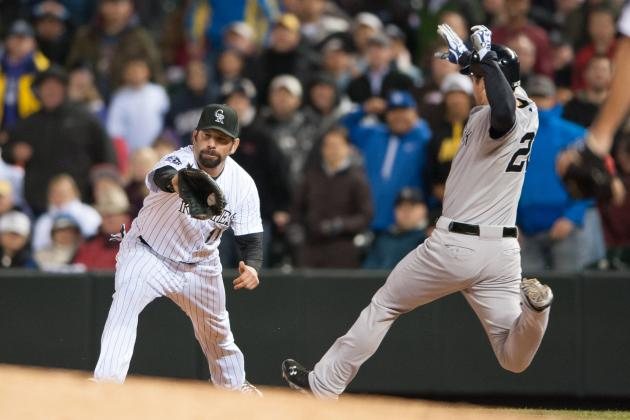 Yanks Snap Coors Hex with Infield Hit in 9th